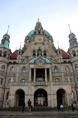 Neues Rathaus (Yukkuriko) Tags: germany deutschland hannover hanover neuesrathaus niedersachsen  bearbeitet
