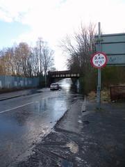 King St Bridge is Flooded Again (1) (dddoc1965) Tags: park street bridge cars water scotland king flooded splashing ferguslie dddoc davidcameronpaisleyphotographer