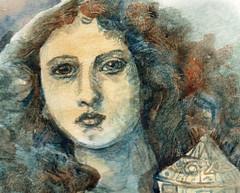 King Pelles's daughter (debbie.elzing) Tags: holygrail watercolour sandys
