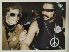 Mom & Dad- Halloween 1969 (Bubash) Tags: halloween childhood vintage parents costume memories retro hippie