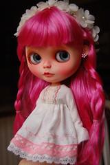 DSC_0080 (Lindy Dolldreams) Tags: pink rose custom blythedoll rosezie
