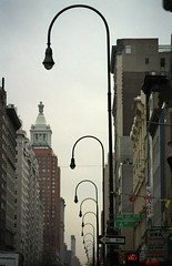 1993_R208_12_10_0031Flickr (TheMachineStops) Tags: nyc vanishingpoint outdoor streetlamps manhattan infinity 14thstreet
