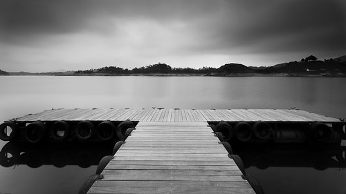 Dock at the dam...