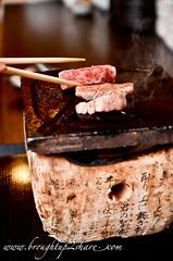 DSC_3960 (Chris & Christine (broughtup2share.com)) Tags: road old mushroom beer japan japanese sashimi salmon snail seafood kirin scallop unagi klang tamago wagyu ishin