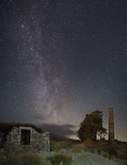 Explosive Pasts, Captured Present. (macdad1948) Tags: stars nightscape astro devon 24 dartmoor explosives gunpowder starscape powdermills postbridge dartmoornationalpark samyang