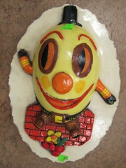 Humpty Dumpty Wall Hanging (TedParsnips) Tags: egg 70s 1970s seventies wallhanging garybaseman nurseryrhymes humptydumpty mothergoose