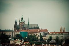 50 365+1 2016 View of Prague Castle from St. Charles Bridge, Karlv Most, Prague, Czech Republic (Kris McNeil) Tags: from bridge castle st republic view czech prague charles most 50 2016 karlv katedrla vta 3651 svatho
