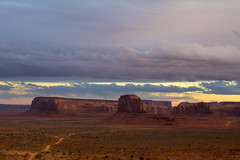 Southern Monument Valley (Dave Toussaint (www.photographersnature.com)) Tags: travel november arizona usa nature photoshop canon landscape photo interestingness google interesting colorful nw raw butte photographer northwest image indian scenic picture az erosion explore cc adobe sacred getty sw monumentvalley fourcorners reservation elephantbutte americansouthwest coloradoplateau 2015 navajonation valleyoftherocks denoise clybutte 60d topazlabs triballands photographersnaturecom davetoussaint creativecloud spearheadbutte