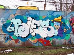 Bies (soulroach) Tags: nyc ny brooklyn graffiti tnr wks gak fbs bies ynn tmt tnc