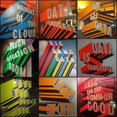 BigBangData Collage (35mmMan) Tags: cameraphone london collage graphicart words graphics gallery somersethouse data android picsart bigbangdata samsungkzoom