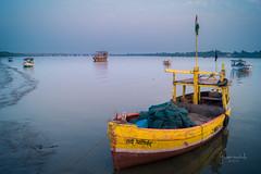 328 - (Gladson777) Tags: winter sunset india yellow photography evening boat amazing cool moments sony maharashtra alpha dslr mumbai slt a58 2016 vasai 2015 naigaon dslt