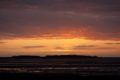 Hilbre Island Afterglow Explored 6/3/2016 (David Chennell - DavidC.Photography) Tags: wirral merseyside riverdee hilbreisland