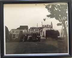 Gt North Road (South Strand Trucking) Tags: truck vintage print cafe flat lorry stop driver sheet vulcan a1 jacks brs aec maudsley