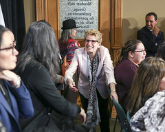 IMG_0933  Premier Kathleen Wynne made an announcement of funding on the Ending Violence Against Indigenous Women Strategy. (Ontario Liberal Caucus) Tags: zimmer aboriginal indigenous meilleur violenceagainstwomen indigenouswomen jaczek maccharles svhap