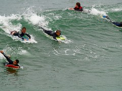 The water boys (sefunnell) Tags: ocean beach water surfing bodyboarding