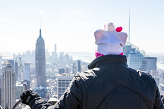 Top of the Rock - New York (Jared Beaney) Tags: nyc newyork rockefellercenter empirestatebuilding topoftherock rockefellerplaza canoneos700d