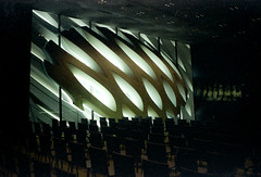 The Wall (bhop) Tags: california leica art museum 35mm iso800 diy los angeles superia f14 voigtlander rangefinder fujifilm grainy broad m6 nokton fujicolor superia800 v700 unicolor xtra800