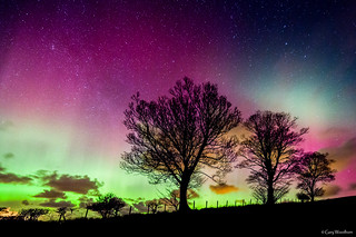The Sky at Night - Aurora Borealis, Northumberland