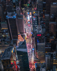 Times Square NY Aerial (Justin in SD) Tags: above city nyc newyorkcity travel ny newyork building night cityscape sony flight tourist aerial helicopter timessquare bigapple overhead sonyalpha sonya7rii a7rii a7r2