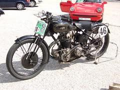 AJS R10 - 1930 (John Steam) Tags: vintage austria loser meeting motorbike motorcycle oldtimer steiermark 1930 altaussee ajs motorrad r10 oldtimertreffen amvc bergpreis