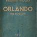 Libro Orlando, de Virginia Wollf, traducción de Jorge Luis Borges, Editorial Sur, Buenos Aires, 1937. Primera edición y primera traducción al español
