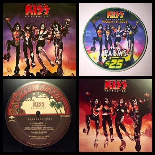 Kiss - Destroyer. Released 40 years ago today and the first record I ever owned. Wish I still had that original copy.