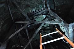 Inside the chariot (Matt From London) Tags: london ladder quadriga chariot constitutionarch wellingtonarch hydeparkcorner