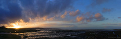 it's Good Night from Red Wharf Bay and it's Good Night from me (lunaryuna) Tags: sunset sky panorama seascape nature beauty wales clouds reflections easter season landscape island coast spring colours sundown dusk shore lowtide lunaryuna cloudscape anglesey northwales redwharfbay stitchedpanorama