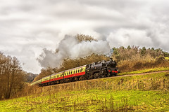 WSR_2016_03_11_171 (Phil_the_photter) Tags: watersmeet minehead leighwoods wsr 7f westsomersetrailway 8f 53808 53809 34098 standardtank templecombe 48624 80043 80072 roebuckcrossing
