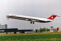 "HB-ING Swissair ""Glarus"" McD"