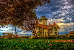 Pt. Fermin Lighthouse HDR (Michael F. Nyiri) Tags: lighthouse southerncalifornia sanpedro pointfermin