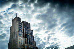 if Batman lived in NYC this would be his home (petespande) Tags: city nyc newyorkcity sky architecture 50mm big nikon cityscape nikkor 18 nikond750