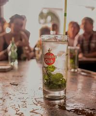 Mojito - La Bodeguita del Medio - Havana/Cuba (Enio Godoy) Tags: travel macro nikon drink details havana cuba beverage frias journey mojito viagem vacations bebida detalhes clouseup niksoftware nikond300s viveza2