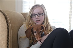 Hazel Needs a New Pedicure! (smilla4) Tags: dog canine dachshund pedicure paws claws ivdd