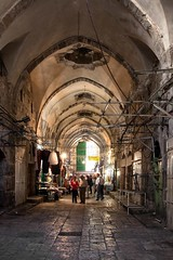 14th Century Suq al-Quattanin (l plater) Tags: israel muslimquarter oldcityofjerusalem cottonmerchantsmarket marketofthecottonmerchants suqalquattanin mamelukegovernorofdamascus emirtankiz 14thcenturylqattaninmarket