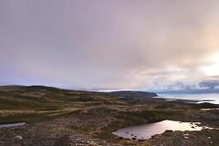 Midnight (alevtinakiseleva) Tags: summer lake expedition clouds russia north kolapeninsula murmanskregion sonyilce5000