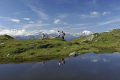 Familie-Wanderung-Blausee (aletscharena) Tags: schweiz sommer matterhorn wallis wandern familien blausee unescowelterbe aletscharena aletscharenach
