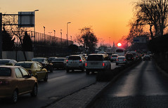Evening Rush Hour (mishainmadrid) Tags: cars turkey evening istanbul coches automviles