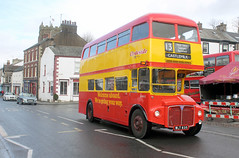 2016-03-27 WLT 835 AEC Routemaster-Park Royal ex Clydeside Scottish, Kirkby Stephen (John Carter 1962) Tags: bus buses rm busrally exlondon edenvalleyrally