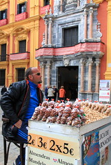 Malaga, Spain (Kristel Van Loock) Tags: city travel spain espanha europa europe andalucia espana almonds andalusia andalusien espagne malaga viaggio spanien spagna spanje andalousie espagna spagne citytrip andaluzia andalusi almendras amandelen verkoper zuidspanje visitmalaga march2016 beleefmalaga