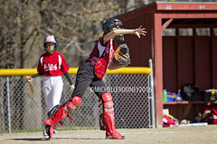 IMG_9215eFB (Kiwibrit - *Michelle*) Tags: school girls game sports team mms maine monmouth softball middle 2016 halldale 042816