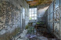 The infirmary II (Claudia Arrigoni) Tags: urban italy abandoned industrial decay urbanexploration derelict abandonedbuilding urbex abandonedplaces abbandonato cotonificio abandoneditaly neurojuice