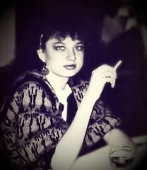 1987 (Ke Bra) Tags: portrait sw selbstportrait 80er schwarzweis 1980er