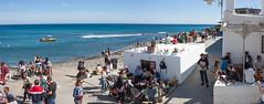 Las Negras (anroir) Tags: espaa beach nature andaluca sand waves playa es almera cabodegata aguaamarga lasnegras parquenaturalcabodegata