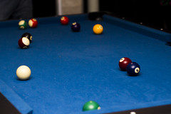 Blue Pool Table (Alvimann) Tags: camera blue color colour colors pool digital canon ball colours balls games colores bolas taco cloth bola canoneos camara gam canon550d canoneos550d alvimann