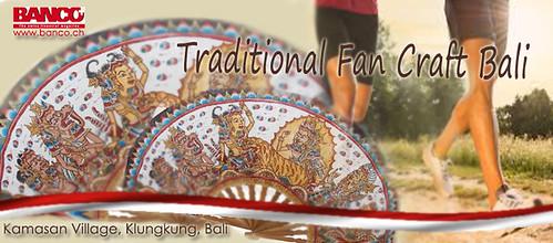 Traditional Fan Craft Bali