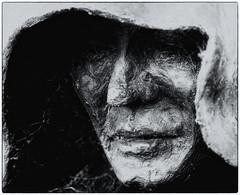 The Monk of Malmesbury (Andy J Newman) Tags: england texture statue nikon unitedkingdom daniel monk cobweb figure gb winchester malmesbury d7100 silverefex