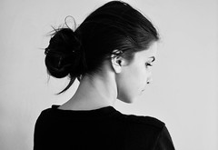 - (marikacaliumi) Tags: portrait blackandwhite selfportrait girl beautiful beauty self myself photography photo nikon photographer photoshoot profile portraiture nikond90