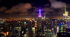 New York Skyline - From the Rockefeller (slim studios) Tags: usa newyork skyline skyscraper cityscape sigma1850f28 nikond3100