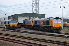 66711-66770-66766-PB-09042016-1 (RailwayScene) Tags: peterborough sence gbrailfreight aggregateindustries gbrf 66711 66770 66766